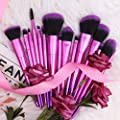 Make Up Brushes Set Professional, DUcare Purple Makeup Brushes
