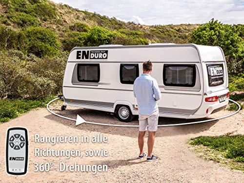 51qFuzkBKYL Enduro 11825 Caravan Rangierhilfe, halbautomatisch mit Kettengetriebe, EM203 & 16609 Batterieladegerät AS1210