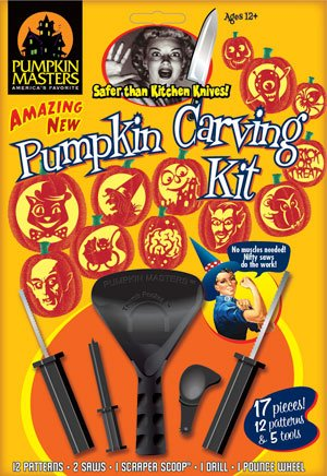 Vintage Pumpkin Carving Kit - Pumpkin Masters