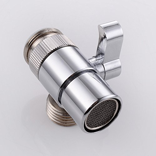 Outstanding Weirun Brass Diverter For Kitchen Or Bathroom Sink Faucet Replacement Part M22 X M24 Connector For Handheld Bidet Hand Sprayer Polished Chrome Download Free Architecture Designs Barepgrimeyleaguecom