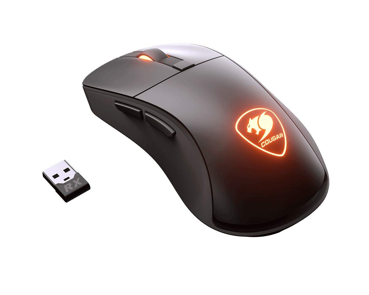 Cougar Surpassion RX Wireless Optical Gaming Mouse with PixArt PMW3330 Professional Gaming Sensor