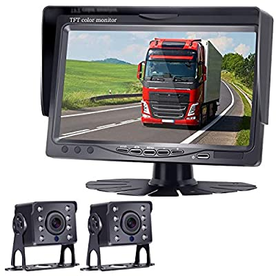 HD 720P Backup Camera and 7