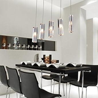 Vivreal® Hängelampe Pendelleuchte Hängeleuchte Deckenleuchte Glasschirm  Downlight G4 Deckenlampe Für Esszimmer