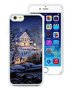2014 Newest iPhone 6 Case,Holiday Home christmas White iPhone 6 4.7 Inch TPU Case 1