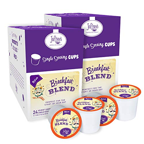 Joffrey's Coffee – Breakfast Blend, Rich Coffee Blend, Artisan Medium Roast, Arabica Coffee Beans, Smooth-Bodied Blend…