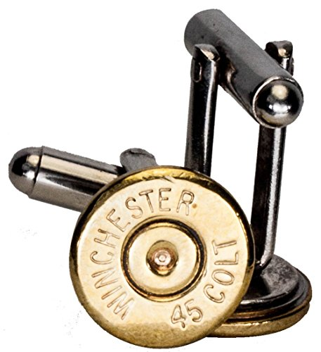 Dobez DesignZ 45 Colt Brass Finish Cuff Links (Winchester)