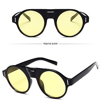 ZHOUYF Gafas de Sol Gafas De Sol Steampunk Mujeres Hombres ...