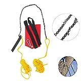 YaeTek Rope-and-Chain Saw - 48 Inch High Limb Hand Chain Saw -...