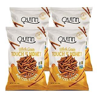 Quinn Whole Grain Touch Of Honey Pretzel Stick, 7 Ounce Bag (4 Count)
