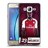 Official Arsenal FC Danny Welbeck 2017/18 First Team Group 1 Soft Gel Case for Samsung Galaxy On5