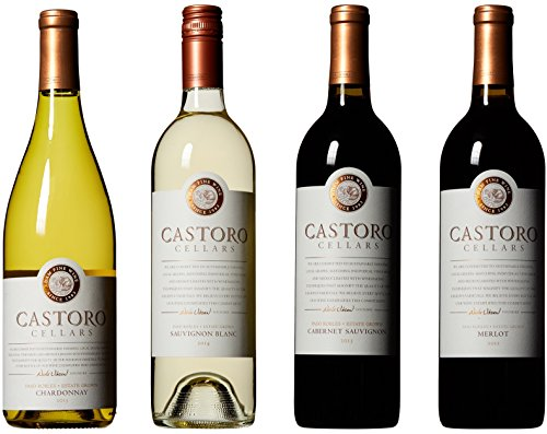 Castoro Cellars Paso Robles Sampler Wine Gift Pack 4 x 750 mL