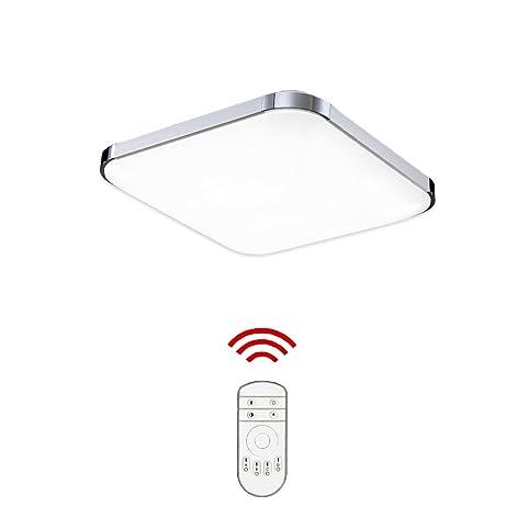 HengdaR 12W LED Deckenleuchte Bad 85V 265V Deckenlampe Designleuchte Wohnzimmer Kche Dimmbar Lampe
