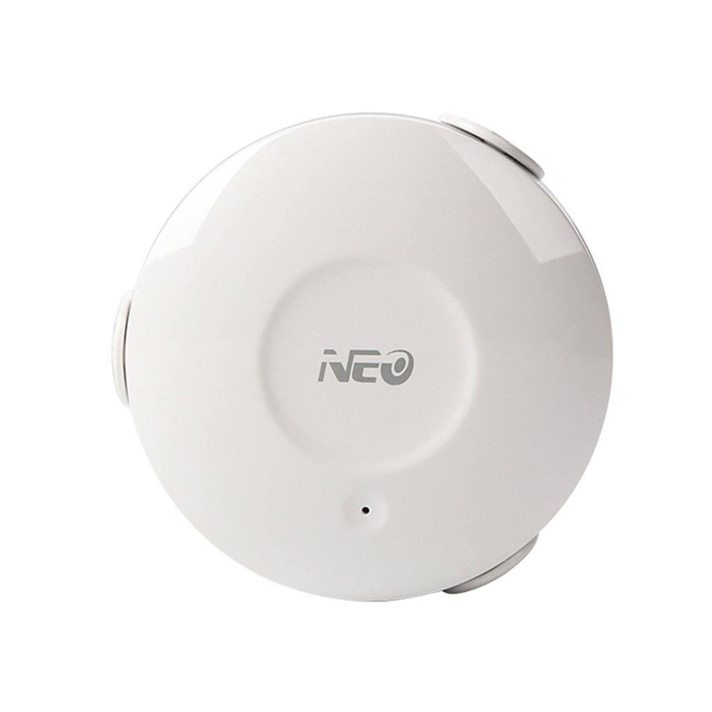 F-blue Las alertas de notificación Sensor de Fuga de inundación Neo Coolcam NAS-WS02W WiFi Water Smart Wi-Fi Detector de Fugas de Aplicaciones: Amazon.es: ...