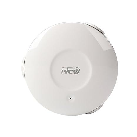 Ruiboury Neo Cámara de refrigeración NAS-WS02W WiFi Sensor Inteligente de Fugas de Agua Detector