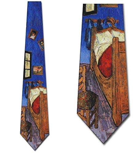 Bedroom at Arles Tie Vincent van Gogh Neckties