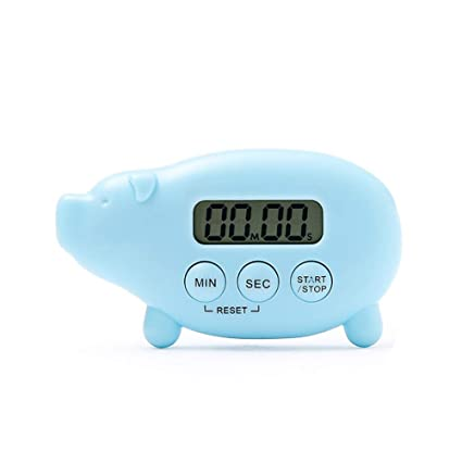 Cute Kitchen Timer Caliamary Pig Digital Kitchen Timer Magnetic Cook Timer Fun Digital Cooking Timer Loud Ring For Kitchen Cooking Baking Sports