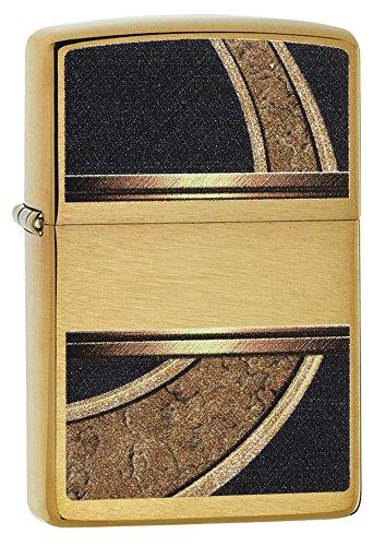 Zippo Design Lighter, Brushed ()