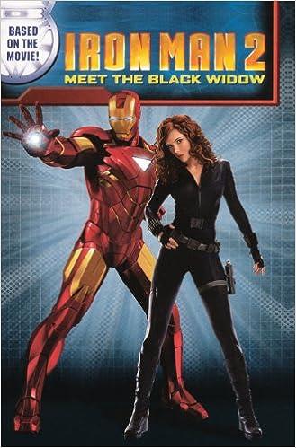 Amazon Com Iron Man 2 Meet The Black Widow Turtleback