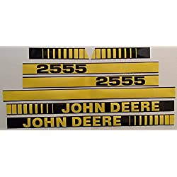 New Aftermarket Hood Decal Set Made To Fit John De