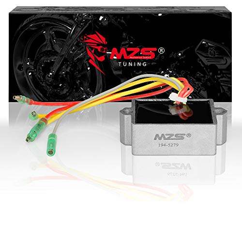 MZS 194-5279 Regulator Rectifier Voltage for Mercury Mariner Outboard 5 Wires 25 to 250 HP Replace 815279-1 815279-2 815279-3 815279-4 815279-5 65W-81960-00-00 65W-81960-10-00 ()