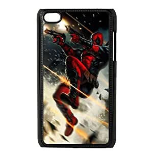 Deadpool iPod Touch 4 Case Black TPU Phone Case SV_083515