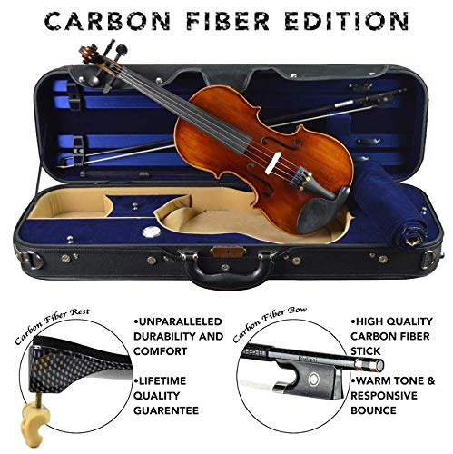 Louis Carpini G2 Clearance Violin Outfit 4/4 (Full) Size Carbon