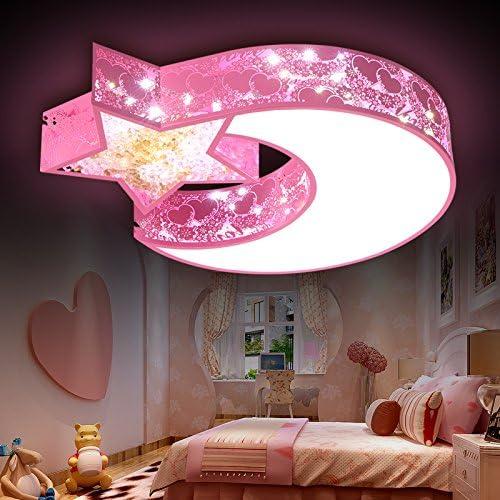 53 LED Cartoon Deckenleuchte ultrad/ünne Kreative Baby Lampe Kinderzimmerlampe Eisen Lampeschirm Deckenlampe F/ür M/ädchen Junge Zimmer Schlafzimmerlampe Fernbedienung Kronleuchter 60 8CM,Dimmable