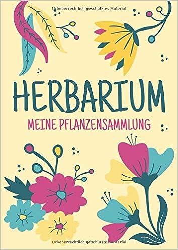 Herbarium Meine Pflanzensammlung Herbarium Leer A4