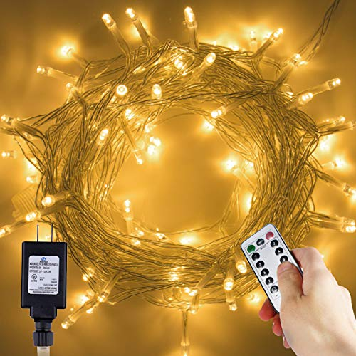200 Led Christmas Lights Warm White in US - 7