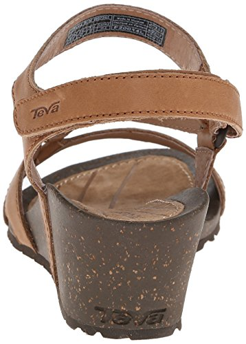 Teva Woman Sandals Cabrillo Crossover Wedge Tan Broncearse