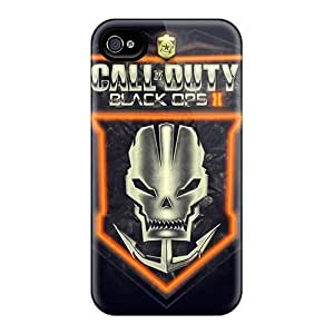 Anti-Scratch Hard Phone Cover For Apple Iphone 5/5s (Scb3132Nsrv) Allow Personal Design Vivid Call Of Duty Black Ops2 Crest Pattern
