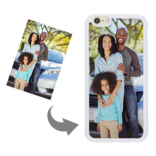 Customize Your Own Phone Case - Personalized Photo/Text/Logo Back Cover Case for iPhone 6/6s,Birthday/Xmas/Valentines Gift for Her and Him