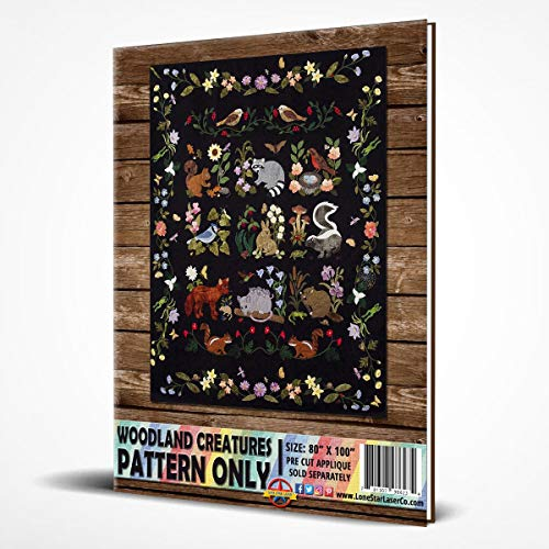 Woodland Creatures Collector Series Pattern by Rosemary Makhan (Quilts by Rosemary)