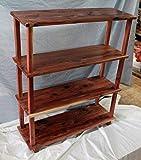 Cedar bookshelf, bookshelf, living room bookcase, kids bookshelf, storage unit