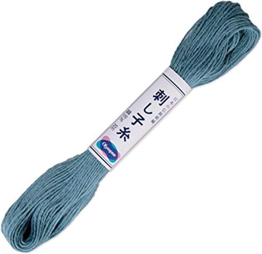 Sashiko Cotton Thread Olympus Japanese Embroidery 104 Crimson Red 100 Metre