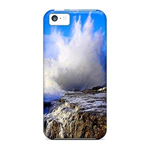 New Arrival Cases Covers With LSa8784fGbi Design For Iphone 5c- Crashing Wave
