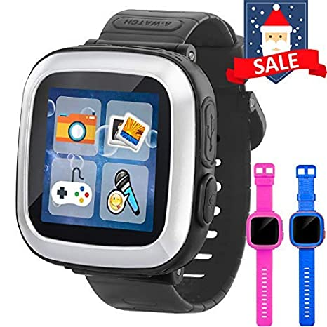 GBD Game Smart Watch for Kids Girls Boys with Camera 1.5 Touch 10 Games Pedometer Timer Alarm Clock Electronic Learning Toys Wrist Watch Bracelet ...