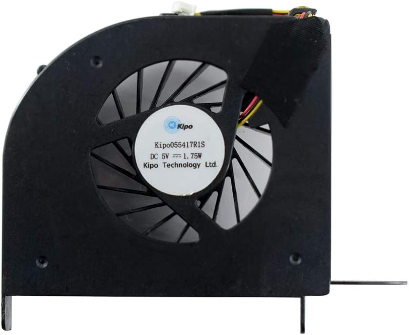 Rangale CPU Cooling Fan Replacement for HP Pavilion DV6-2000 DV6-2100 DV6-2106TX DV6-2150US Series Laptop 579158-001 600868-001 DFS531305M30T