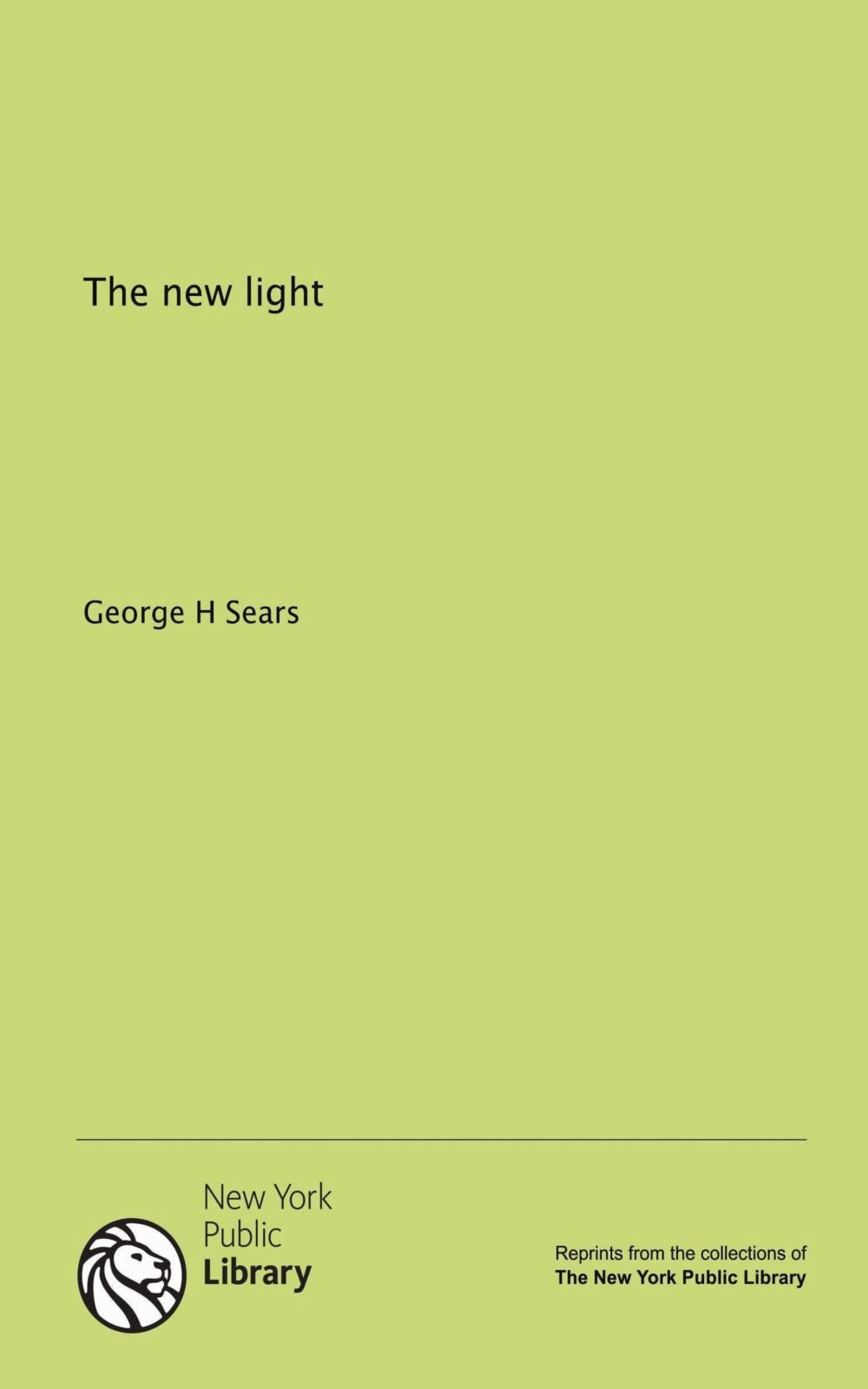 The new light pdf