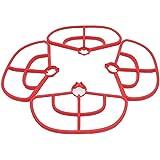 Teeggi 4pcs/set Propeller Guard Bumper Protector for MJX B2C B2W Bugs 2 RC Quadcopter Accessories, Red