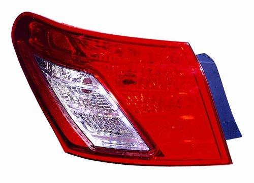 Depo 324-1903L-US Lexus ES 350 Driver Side Replacement Taillight Unit without - Us 324