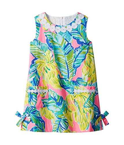 Lilly Pulitzer Kids Baby Girl's Little Lilly Classic Shift (Toddler/Little Kids/Big Kids) Pink Sunset Local Flavor 10