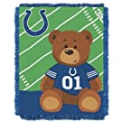Indianapolis Colts Woven Baby Throw