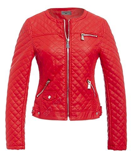 14 matelass 8 Red VESTE FEMMES tailles CLAIR SS7 FERMETURE POINT MOTARD CROIX DE ZwIw1xv7Pq