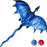 "JEKOSEN Dragon 54"" Huge Kite for Kids and Adults"