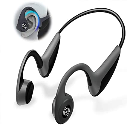 ed61efcf208 KimHee air Open Ear Wireless Bone Conduction Headphones,Lightweight Stereo  Hands-Free Sports Bluetooth