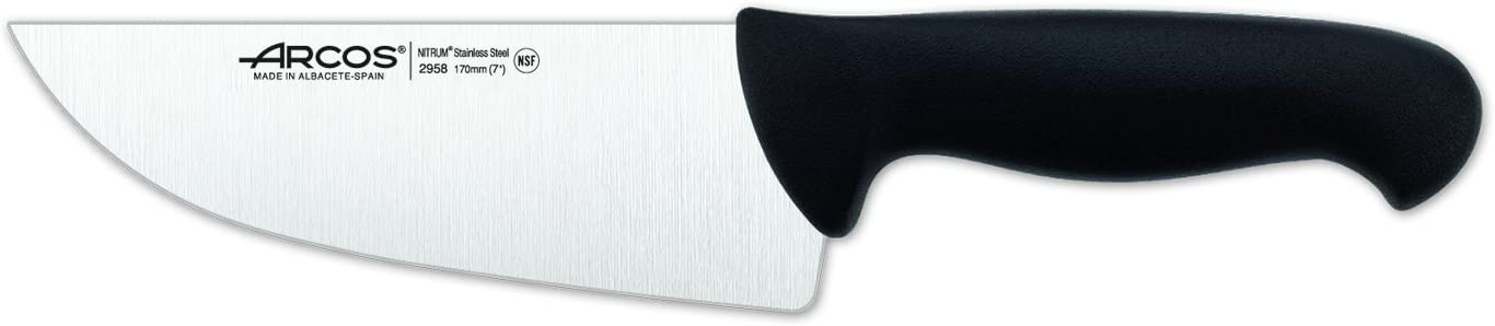 Cuchillo de carnicero 170 mm f.display Arcos 2900