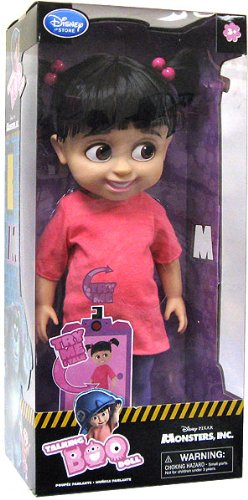 Monsters Inc Boo Costume Disney (Disney Monsters Inc. Exclusive 16 Inch Deluxe Talking Doll Boo)