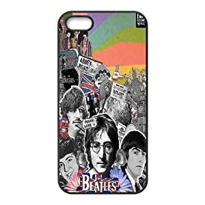 James-Bagg Phone case The Beatles Music Band Protective Case For Apple Iphone 5 5S Cases Style-19