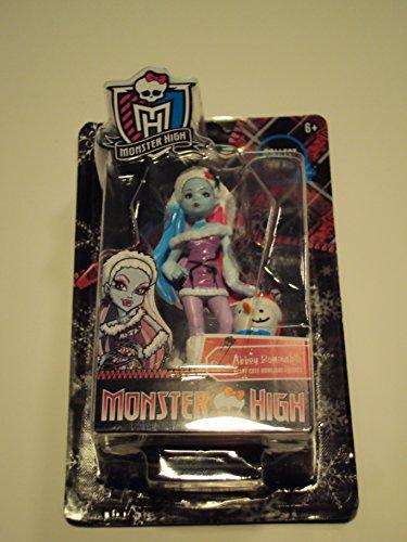 [Monster High Abbey Bominable Christmas Pvc Figure] (Monster High Lagoona And Gil)